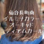 イルミナカラーオーキッド【仙台長町南美容室PASSION】